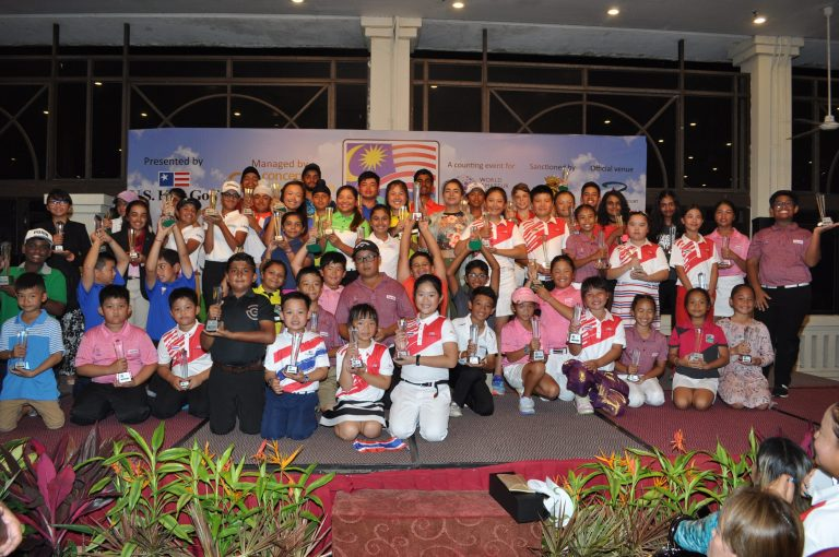 Kids from Philippines Amongst Winners in the Kids Golf World