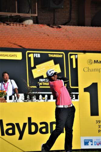 Amir Nazrin made his first cut in the Maybank Championship joining Gavin Green, Ben Leong and Nicholas Fung